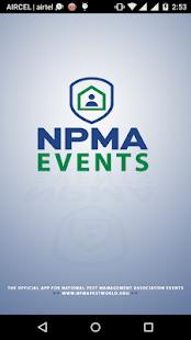 NPMA Events - náhled