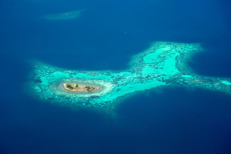 Photo: Deserted Island, Papua, Indonesia.