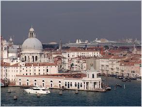 Photo: Dogana del Mar desde el campanario de  San Giorgio Maggiore. Venecia. http://www.viajesenfamilia.it