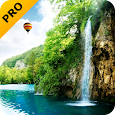 Forest Waterfall PRO Live Wallpaper apk