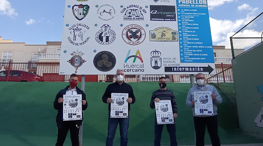 Huércal de Almería con la V Vuelta Ciclista Máster