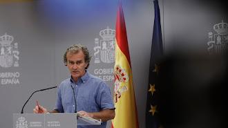 Fernando Simón, este lunes 10 de agosto en rueda de prensa.