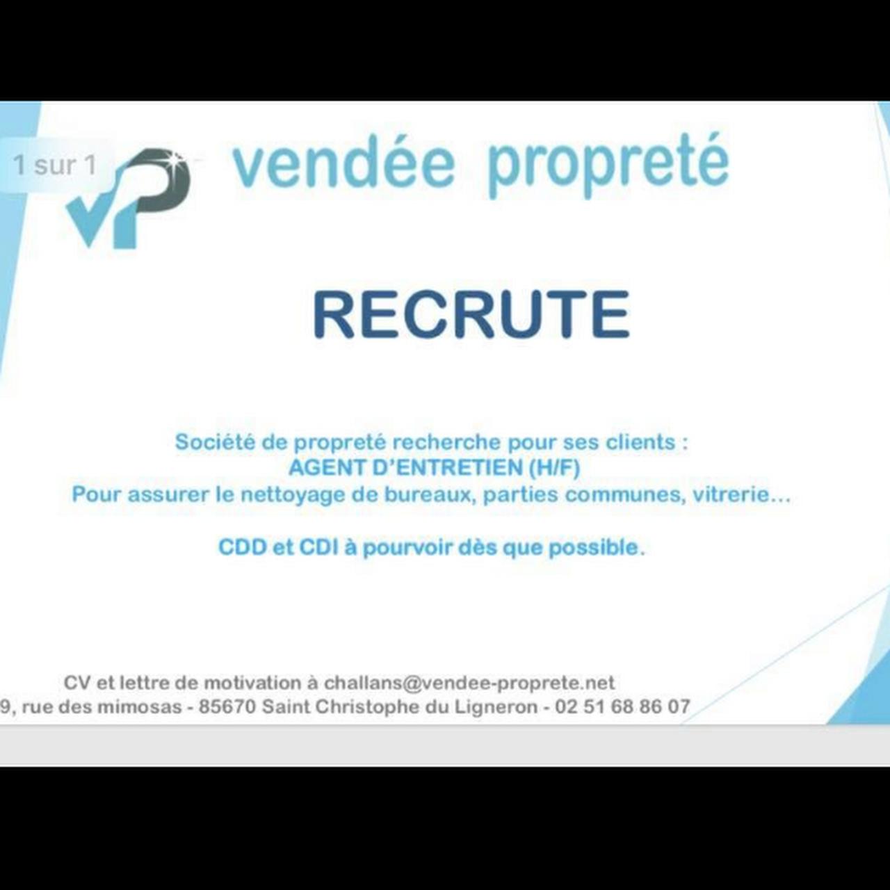 Vendée Propreté Service De Nettoyage Et D Entretien à