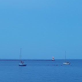 50 SHADES BLUER by Tameem Sanjar - Landscapes Waterscapes (  )
