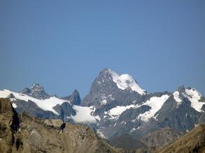 Photo: et la Barre des Ecrins (4102m)