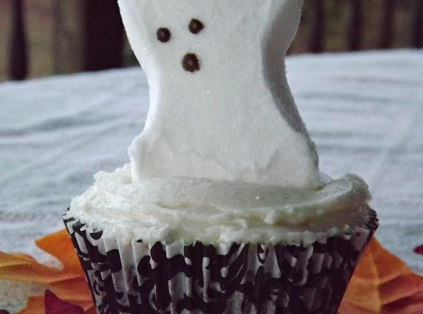 Chocolate Halloween Peep Cupcakes Recipe