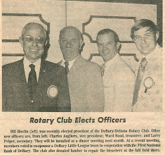 Photo: President Bill Bierlin, Charlie Augliera, Ward Bond, Larry Peiper
