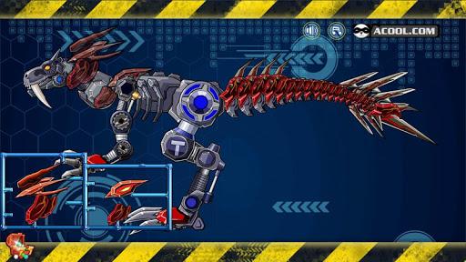 玩具机器人大战:暴力霸王龙