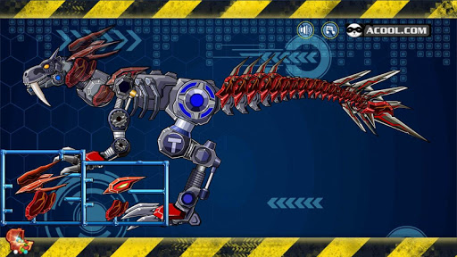 Toy Robot War:Violent T-Rex