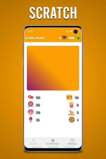 Scratchy Scratch - Earn Money screenshots 1