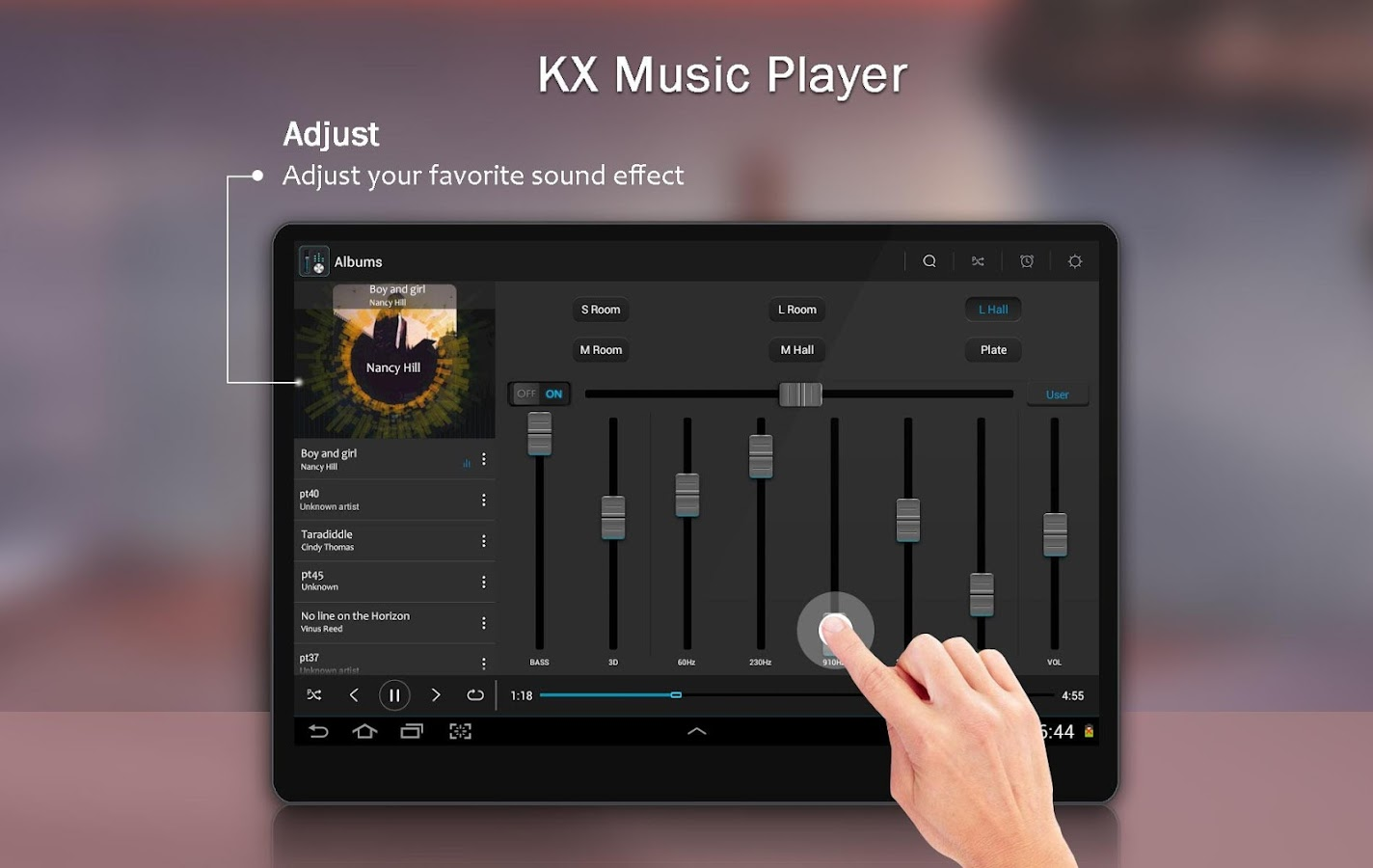 KX Music Player- screenshot