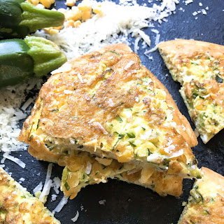 Vegetarian Zucchini Corn Frittata Recipe