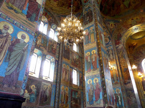 Photo: Almost the whole interior of the church was covered with mosaics: over 7500 square meters of them.