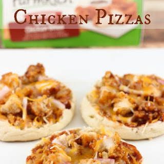 Mini Barbecue Chicken Pizzas