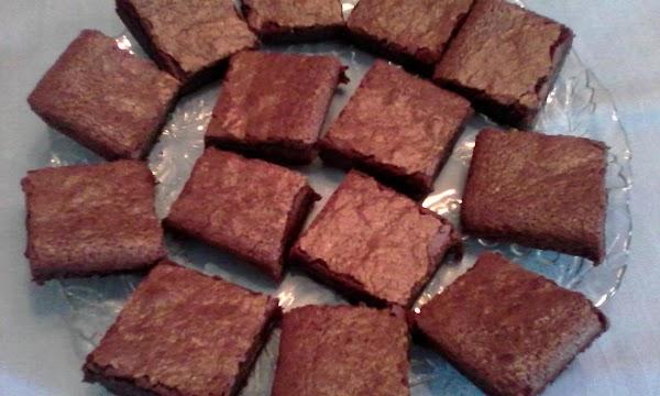 Small Pan Brownies Recipe