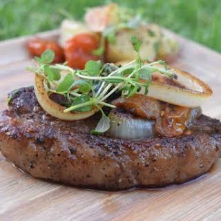 Steak - Juicey & Tender.