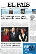 Photo: Guindos vaticina pisos a precios reducidos por la reforma financiera y arranca el congreso del PSOE, los temas de nuestra portada http://www.elpais.com/static/misc/portada20120203.pdf