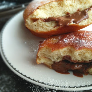 Nutella Filled Donuts Recipe
