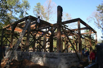 Photo: Heavy Timber Frame For Barn