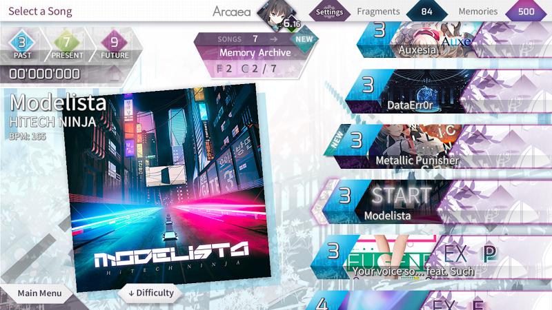 Arcaea - New Dimension Rhythm Game Screenshot 2