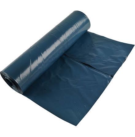 Sopsäck 125l 10/rl blå/svart