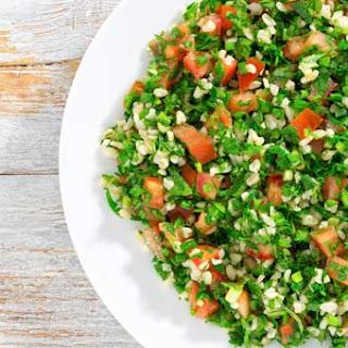 Cauliflower Rice Tabbouleh.