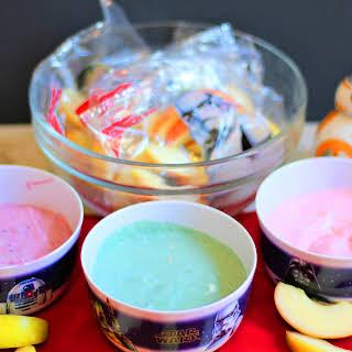 Lightsaber Yogurt Dip.
