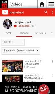 Java Jive 20 screenshot