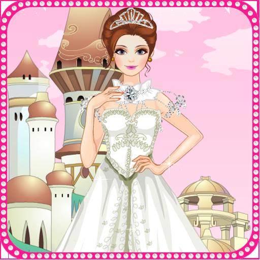 公主的婚礼女孩游戏 休閒 App LOGO-APP試玩