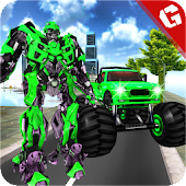 Free Download Grand Robot Monster Truck Transformation 2018 APK