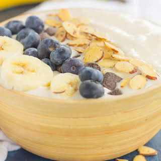 Banana Nut Smoothie Bowl.