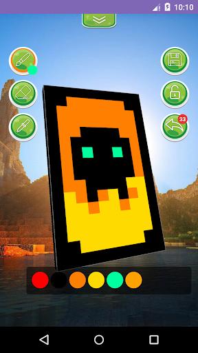 3D Cape Editor for Minecraft 1.2.1 screenshots 3