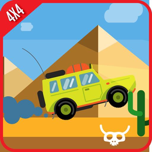 4×4越野沙漠赛车 賽車遊戲 App LOGO-硬是要APP