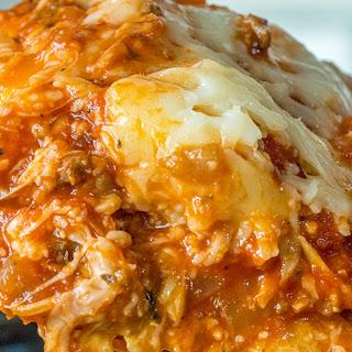 Cheesy Slow Cooker Lasagna Recipe