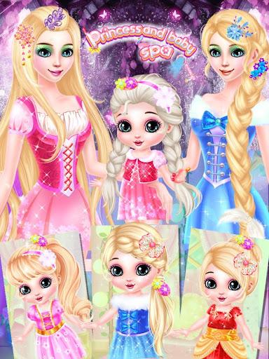 無料休闲Appの長髪王女と赤ちゃんの化粧スパ|記事Game