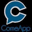 ComeApp location friends icon