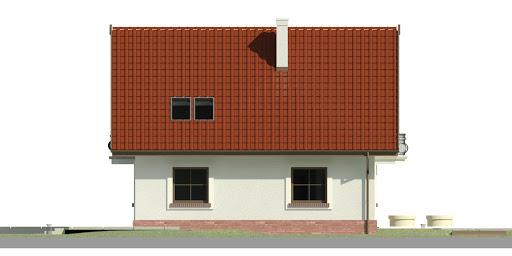 Dom przy Cyprysowej 46 - Elewacja lewa