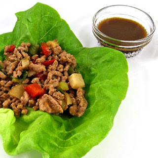 Low-Carb Chicken Lettuce Wraps