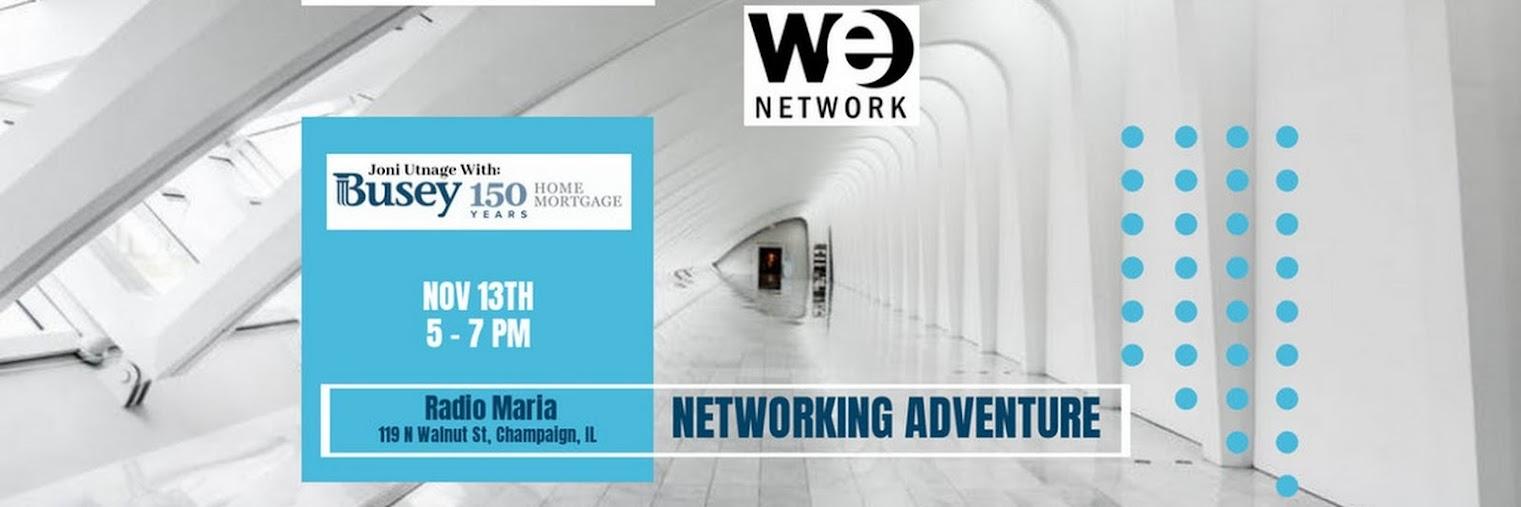 WE Network Event | November 13, 2018 | 5 - 7 PM