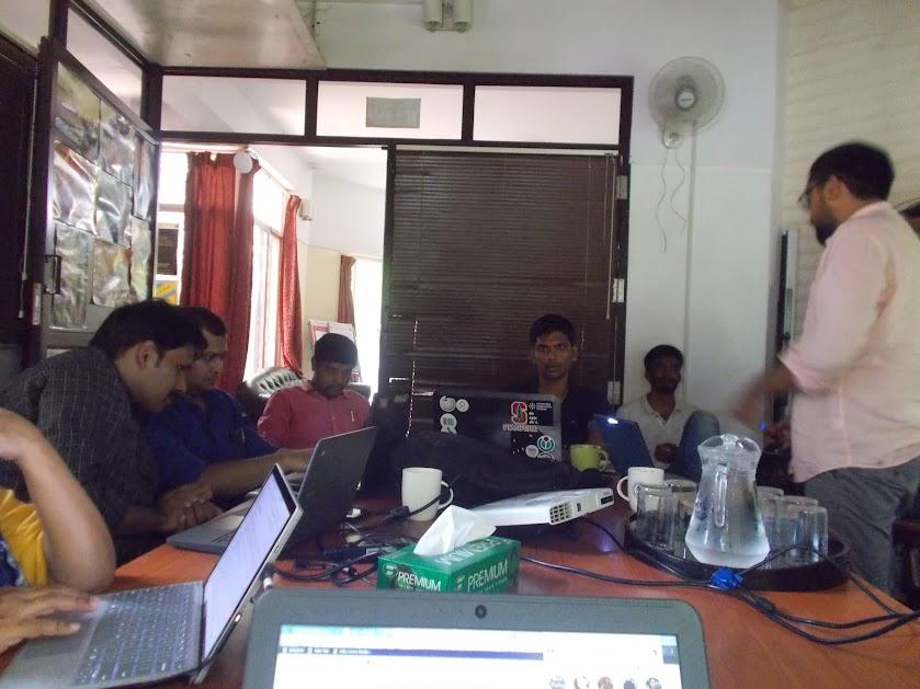 Project Tiger Offline Edit-a-thon 2018, Bangalore