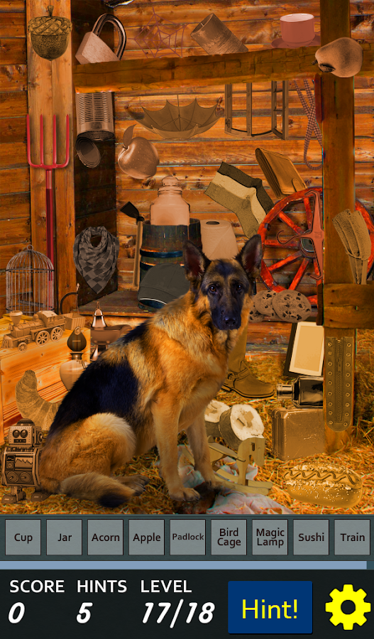 Hidden Object - Dog Happy Life- screenshot