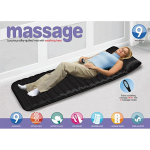 Saltea pentru masaj cu telecomanda si incalzire cu infrarosu