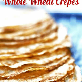 Whole Wheat Crepes