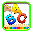 Alphabet coloring book - abc & letters icon
