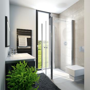 Duschkabinen_16 Exklusiv Profil Drehfalttür Fensterlösung 1