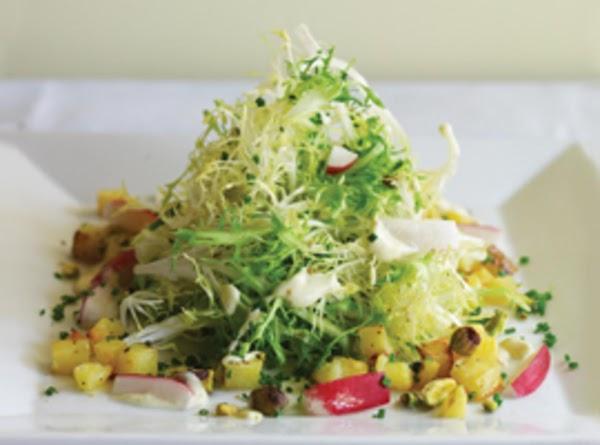 Frisée Salad With Creamy Truffle Vinaigrette Recipe