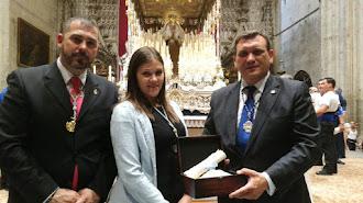 Los Ángeles de Almería, en la coronación.
