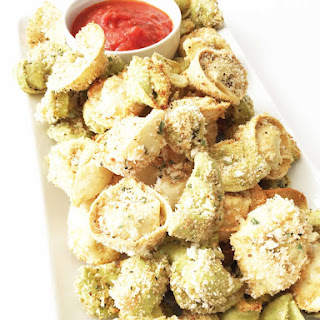 Skinny Baked Tortellini Bites (Sponsored)