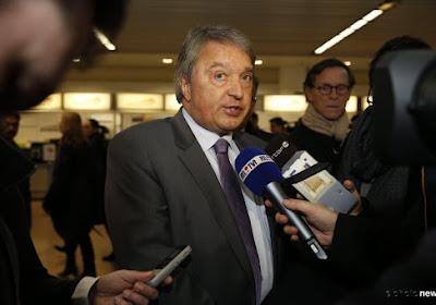 """Herman Van Holsbeeck: 'Nous ne cautionnons pas ces agissements"""""""