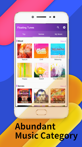 Floating Tunes-Free Music Video Player Screenshots 3